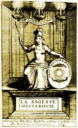 Athena frontispiece: La Sagesse Mysterieuse des Anciens