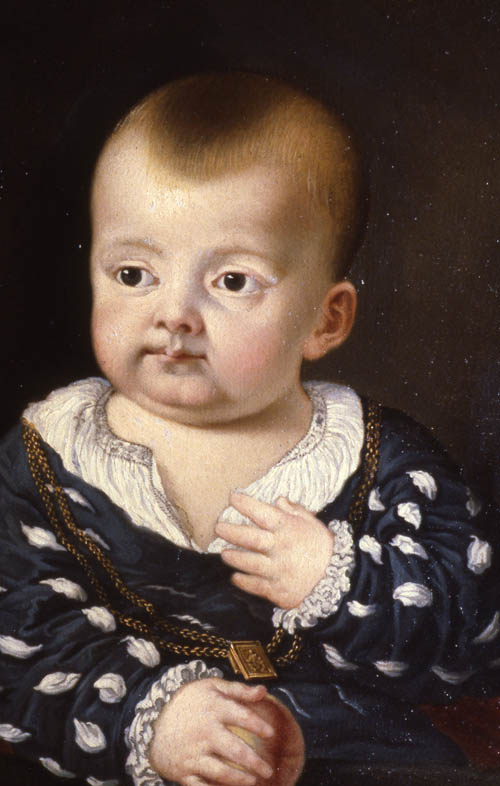 Francis Bacon as a child: portrait (c.1561-2: Gorhambury)