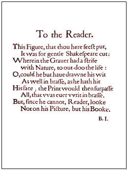 To the reader