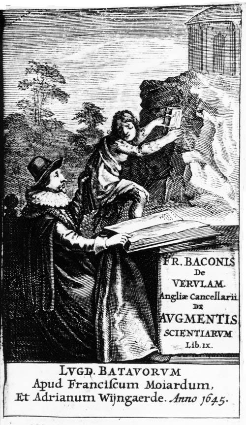 Bacon, De Augmentis Scientiarum (1645) titlepage