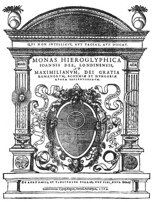 Dee, Monas Hieroglyphica (1564) titlepage