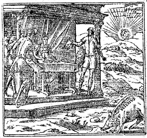 """""""In Dies Meliora"""" emblem: Andrea Alciat, Emblemata (1564)"""