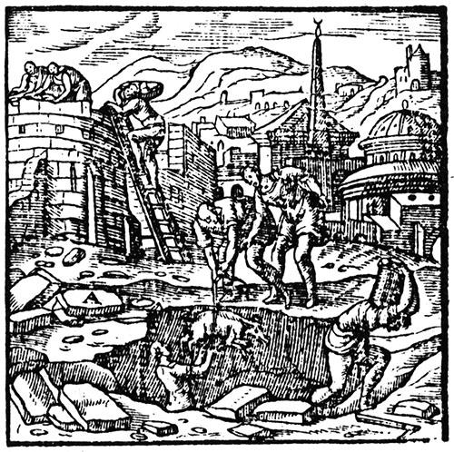 """""""Mediolanum"""" emblem: Andrea Alciat, Emblema (1577)"""