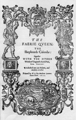 Sidney, Arcadia (1593) titlepage